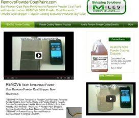 REMOVE Powder Coating to Improve Quality