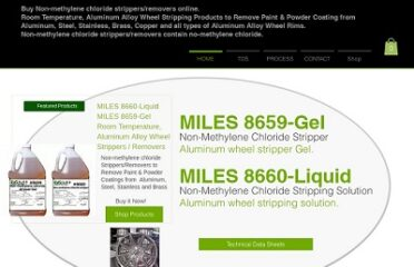 Aluminum Wheel Stripper: Remover